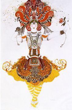 Costume design by Leon Bakst.