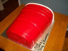 #RedSoloCup #RedSoloCupCake #Aspoonfullasugar #Groomscakes