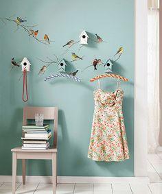 Look what I found on #zulily! Bird Wall Decal Set #zulilyfinds