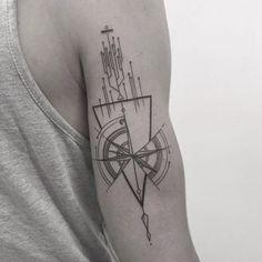 """nice Tattoo Trends - Résultat de recherche d'images pour """"tatouage boussole geometrique&quo..."""