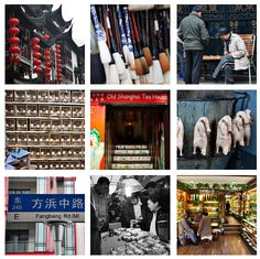 A Guide for a Walking Tour of Bazaars and Markets in Shanghai