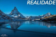 Curiosidades sobre Zermatt Lago Riffelsee Realidade