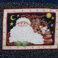 A useful table-mat and coaster set for Christmas - Log Cabin Design. Christmas Log, Log Cabin Designs, Coaster Set, Needlepoint, Quilt Patterns, Teddy Bear, Quilts, Toys, Frame