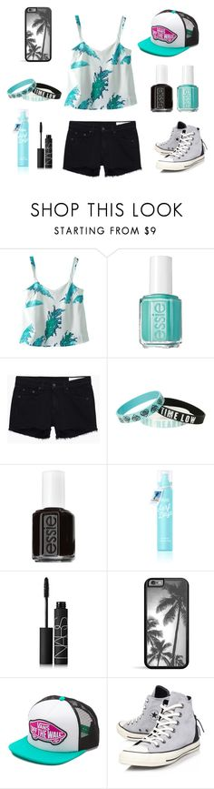 """"""":]"""" by ariadna-sayago-gasparovich ❤ liked on Polyvore featuring Essie, rag & bone/JEAN, NARS Cosmetics, Vans, Converse, women's clothing, women's fashion, women, female and woman"""