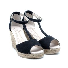 GAIMO SS15 Gota Leather Wedge Sandals | Spanish Fashion - SPANISH SHOP ONLINE | Spain @ your fingertips