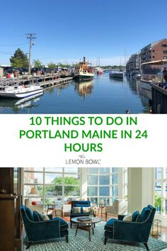 The ultimate travel guide to Portland Maine I'll show you the ten best things to do in 24 hours including where to stay and what to eat! Portland Hotels, Portland Maine, Travel Guides, Travel Tips, Travel Destinations, Travel Maine, Stuff To Do, Things To Do, Harbor Hotel