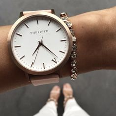 We love the Fifth watches, especially in Rose Gold.