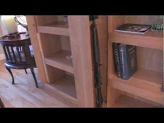 awesome hidden storage bookcase.  Unbelievable!!!