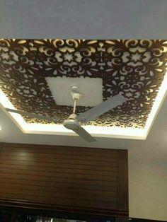 False ceiling Mdf work