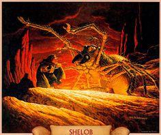 Shelob ~ Greg and Tim Hildebrandt.