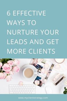 Looking for ways to engage and nurture your leads? Here's a list of 6 effective ways to nurture your leads and get more clients for your service business. Marketing Budget, Content Marketing Strategy, Marketing Plan, Sales And Marketing, Online Marketing, Business Marketing, Business Tips, Online Business, Lead Nurturing