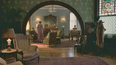 """Chalky White's house from """"Boardwalk Empire"""". I love this doorway!"""