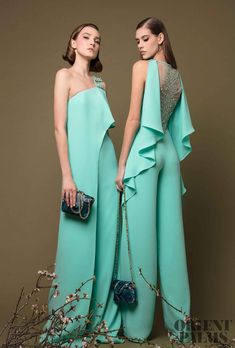 Georges Chakra Spring-summer 2019 - Ready-to-Wear - Cute Outfits Evening Gowns Couture, Evening Dresses, Look Fashion, Runway Fashion, Fashion Design, Georges Chakra, Haute Couture Style, Looks Chic, Designer Gowns