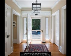 Family entry classic style corridor, hallway and stairs by john toates architecture and design classic | homify