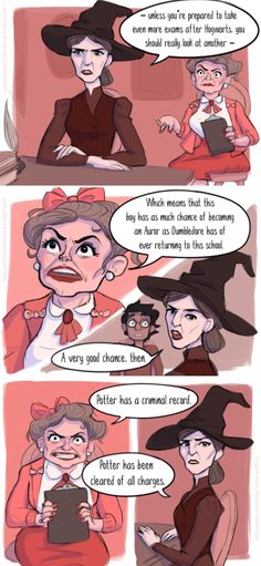 Comic about Professor McGonagall and Umbridge (click to see the whole thing)