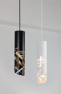 Decor inspiration: pendant lighting and chandeliers gallery - Vogue Living Pipe Lighting, Modern Lighting, Lighting Design, Pendant Lighting, Lampe Tube, Pvc Pipe Crafts, Keramik Design, Wooden Lamp, Pipe Lamp