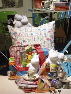 Moomin display by so.fia