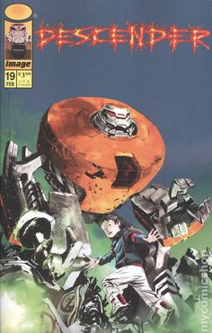 Descender (2015 Image) 19B Image Comics book covers Modern Age  19