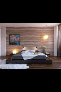 sharp and simple platform bed