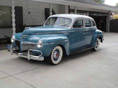 1941 Desoto Custom - Information and photos Vintage Cars, Antique Cars, Desoto Cars, Classy Cars, Collector Cars, Car Parts, Car Pictures, Old Cars, Mopar