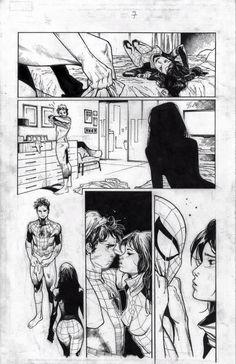 Amazing Spider-Man #9 interior art by Olivier Coipel *