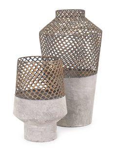 IMAX Rowan Metal Vase