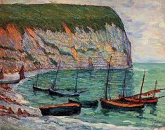 Blog of an Art Admirer: Maxime Maufra (1861-1918) French Impressionist Painter