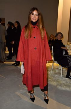 Miroslava Duma Photos: Giambattista Valli : Front Row - Paris Fashion Week - Haute Couture Spring Summer 2016
