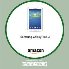 Contar con una tablet Samsung en estos tiempos es una experiencia incomparable... ¡Compra tu Navidad! #TransExpress  http://amzn.com/B00D02AGU4