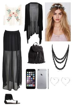 """Untitled #311"" by lalynany ❤ liked on Polyvore featuring H&M, Gardenhead, Bling Jewelry and Marc by Marc Jacobs"