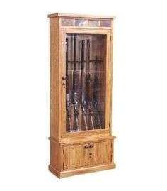 Sedona Gun Cabinet, $399.99.   Available at Just Cabinets Furniture & More and online at JustCabinets.com