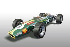 Resultado de imagem para Lotus Cosworth 22