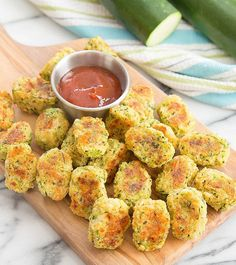 These easy homemade parmesan zucchini tots are a fun and delicious way to eat zucchini. They make a great healthy snack or side dish.