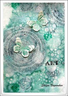 Neon Diary: Art - Journal Page using Deco Arts products; Sept 2015 #decoarts #journalpage