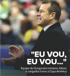 Equipe de #Dunga tem mestres, felizes e zangados rumo à Copa América http://dld.bz/d9ESk