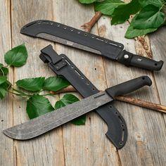 Tough Survival Knife + Machete