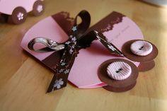CUTE baby card idea! :D