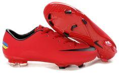 online retailer 6d31e 290e7 Soccer Cleats Nike   Nike soccer shoes TPU Nike Mercurial Vapor Superfly x  FG Red