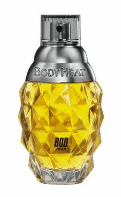 Body Heat Men's Cologne..... Bottle Design, Glass Design, Body Heat, Smell Good, Packaging Design, Cool Style, Perfume Bottles, Men's Cologne, Fragrances