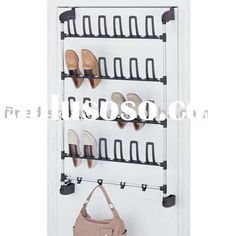 This Convenient Thirty Six Pair OverDoor Shoe Rack Comes With Three Way  Bracket For