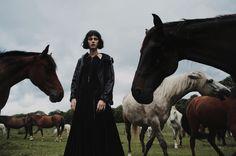 July 2014  Vittoria Ceretti by Fanny Latour-Lambert