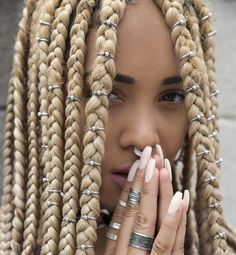 Three Ways to Bling Out Your Box Braids With Jewelry Unruly