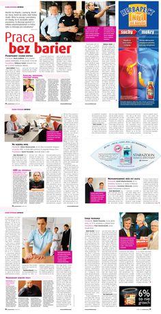 """Reportaż """"Praca bez barier"""" - Poradnik Domowy (listopad 2008) / Reportage """"Job without barriers"""" - Poradnik Domowy (November 2008)"""