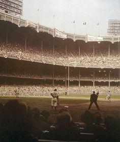 1949 World Series at Yankee Stadium.