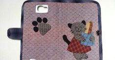 How to make tutorial mobile phone bag case purse fabric sewing quilting patchwork applique. Make Tutorial, Wallet Tutorial, Cell Phone Wallet, Phone Cases, Sprint Cell Phone Deals, Cell Phones In School, Mobile Cases, Mobile Phones, Couture
