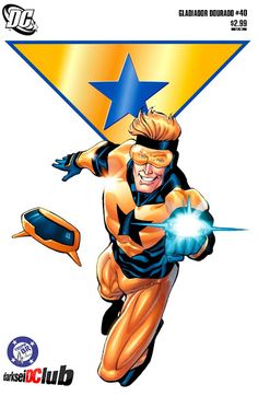 This is bad news for the villain who shows up this month because they're about to face an angry Booster Gold. Booster Gold Comics – 6 x Comic Book Characters, Comic Character, Comic Books Art, Superhero Characters, Book Art, Character Design, Marvel Dc, Marvel Comics, Cosmic Comics