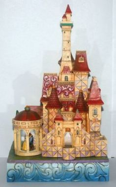 """Enchanted kingdom"" Beast castle musical figure (Jim Shore)"