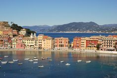 The people and the scenery were so magical, I felt like I was in a dream! Sestri Levante, Italy!