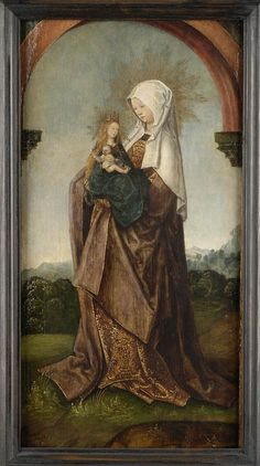 Saint Anne and Baby Mary