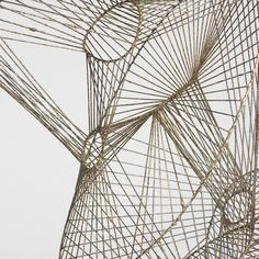 Harry Bertoia wire sculpture